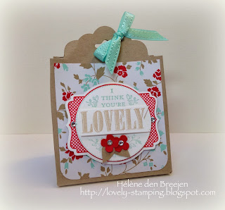 Lovely stamping stampin 39 up producten bestel je hier stampin 39 up giftbag met scallop tag - Deco wc rood ...