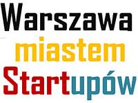 Warszawa miastem Startupów - logo