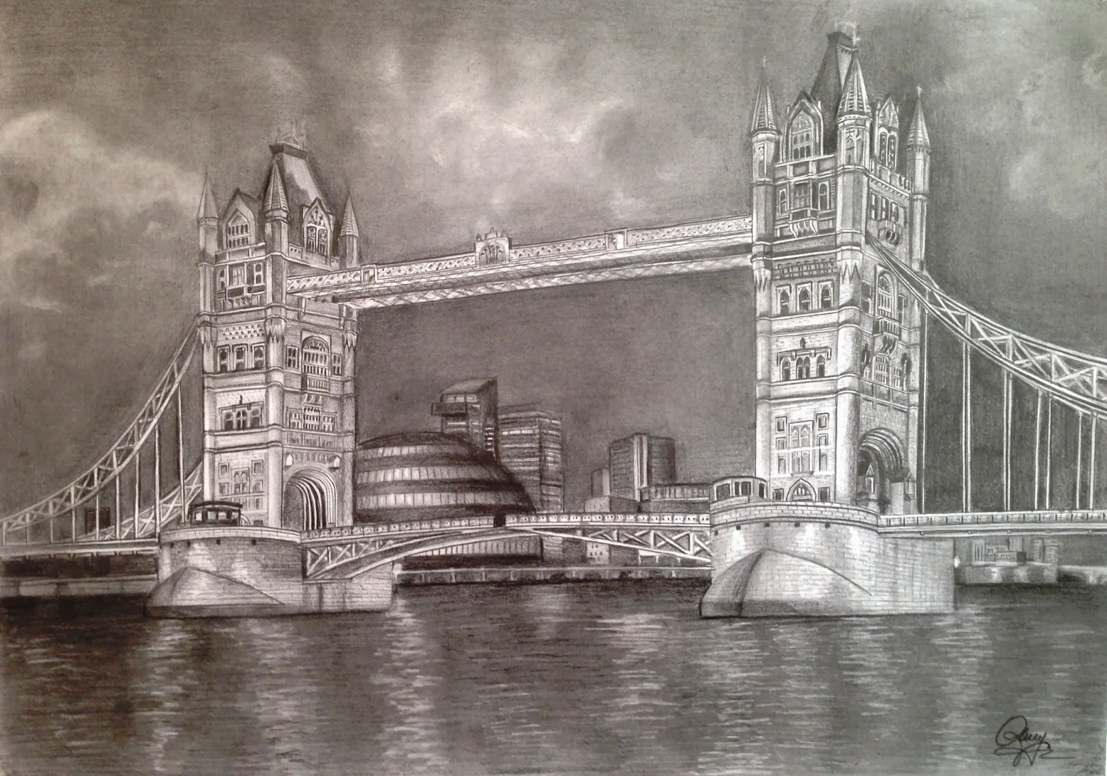 Dreams of an architect tower bridge london for Architecte tower bridge