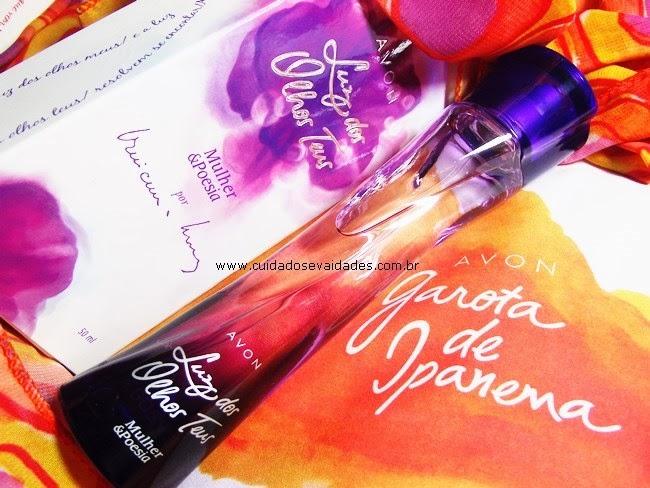 Lançamento: Garota de Ipanema -  As novas Colônias Mulher e Poesia do Avon!