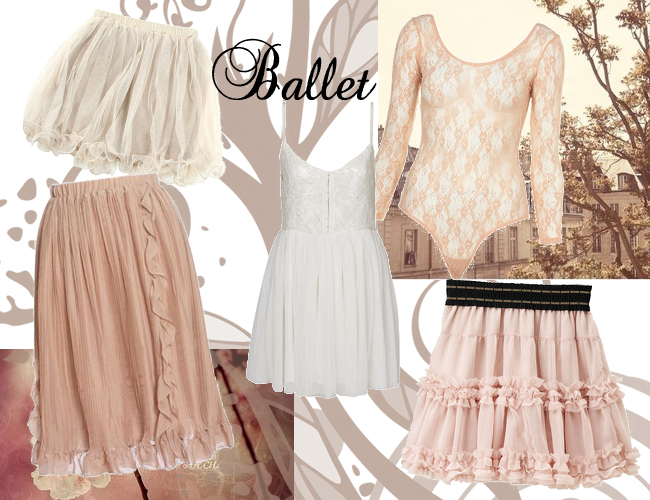 ballet Fashion Trends Fall Winter 2012