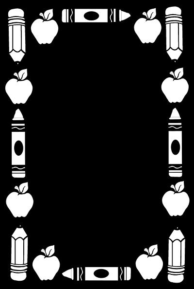 vector-clip-art.comSchool Clip Art Borders 080912