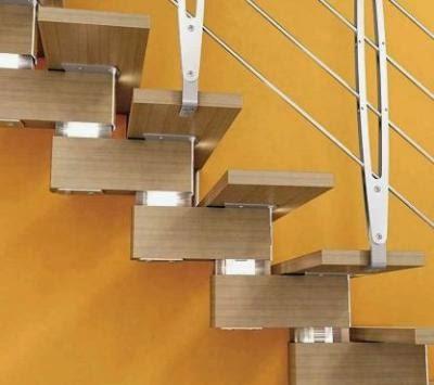 Escaleras de interior dismarquitectura - Como fabricar escaleras de madera ...