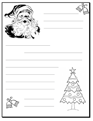 AND, I'm sure you already have a template for your letter to Santa ...
