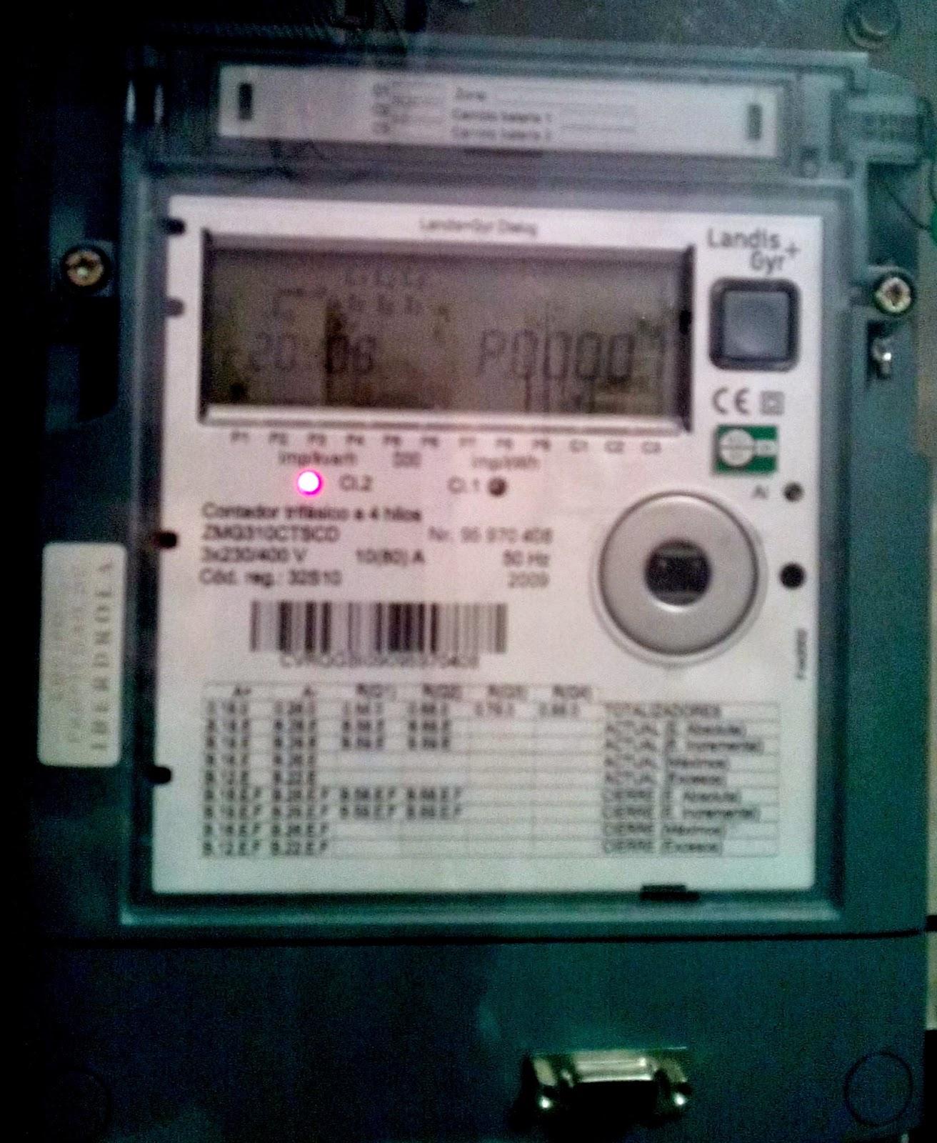La factura de la luz miedo al contador digital for Manipular contador luz digital