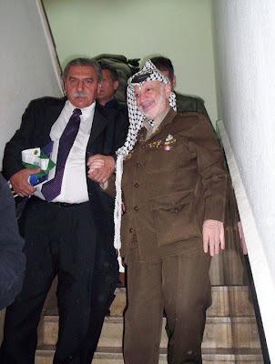 Yasser Arafat e o Deputado Jamil Murad