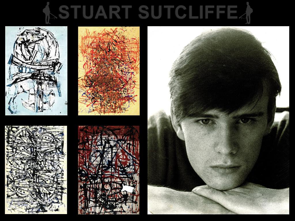 Stuart Sutcliffe Summer Painting