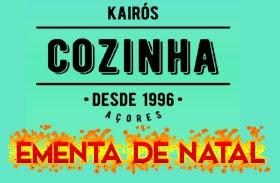 KAIRÓS COZINHA - EMENTA DE NATAL