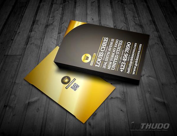 mẫu card visit kinh doanh 3