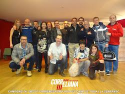 C.A. CORRELIANA CAMPIÓ VI CIRCUIT CAMP DEL TURIA Y LA SERRANIA 2012