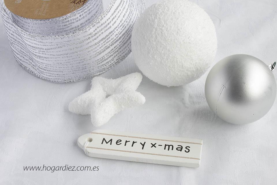 Servilletero DIY de Navidad