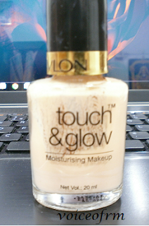 REVLON Touch and Glow Moisturizing Makeup review swatch