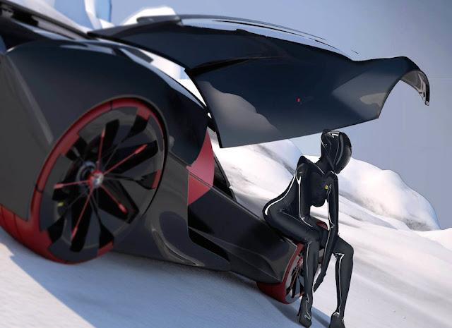 2040年のフェラーリはこんな感じ?フェラーリ主催のデザインコンテストの最優秀作品。