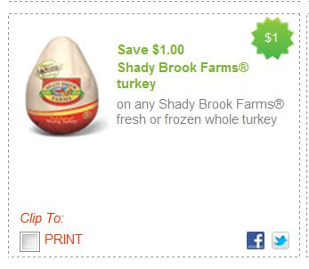 About Shady Brook Farms Be sure to sign up for email alerts or add them to your list, so you'll always be the first to know when more Shady Brook Farms coupons arrive! Want other grocery coupons? We've got them right here.