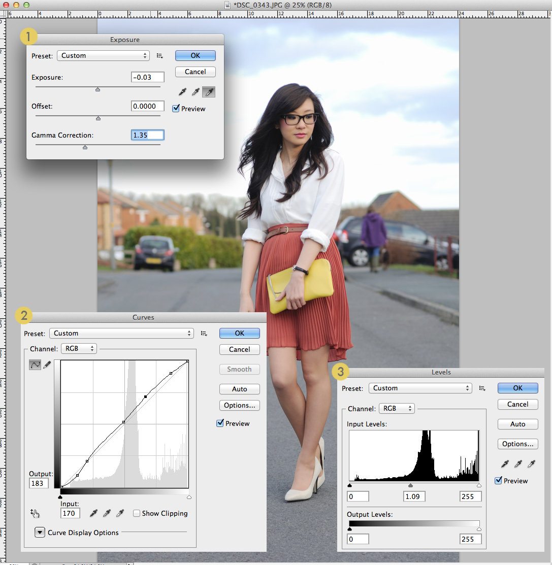 simple tips for how to edit fashion blog photos
