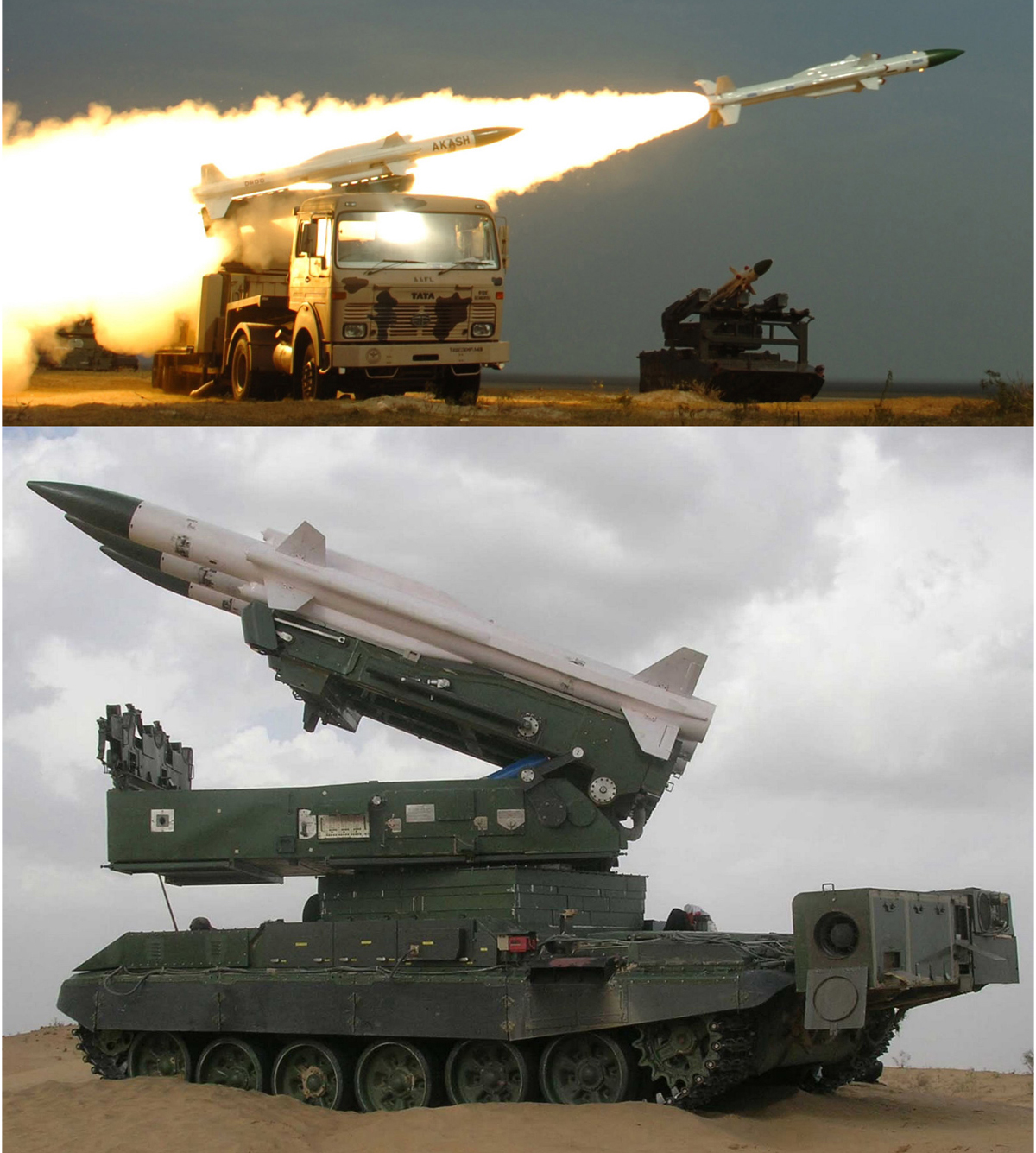 EJERCITO INDIO Akash+Mk1+E-SHORADS+for+IAF+%2528above%2529+%2526+Army