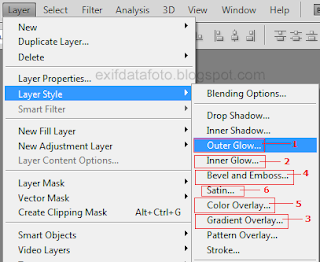 fitur layer style photoshop cs5