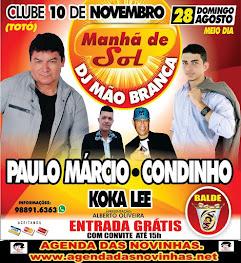 CLUBE 10 DE NOVEMBRO - MANÃ DE SOL DO DJ MÃO BRANCA.