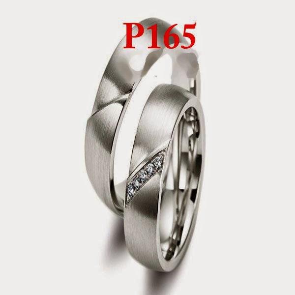 Model perhiasan platina cincin emas perak berlian untuk pernikahan