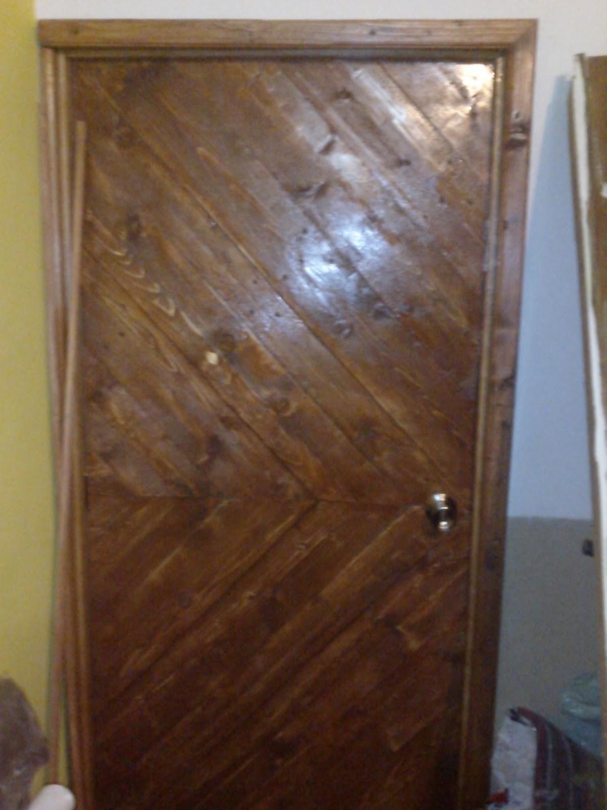 Bricopalets puerta de palets for Puertas de palets