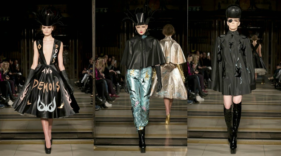 Pam Hogg AW15 London Fashion Week