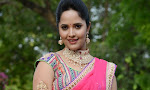 Anasuya in half saree at Maa Mahalakshmi-thumbnail