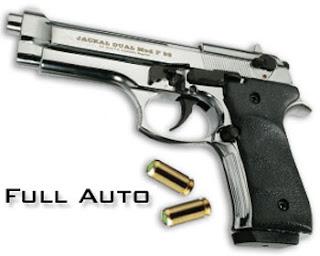 Pistol Jackal Dual Full Auto