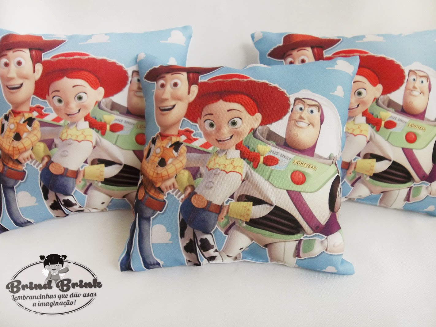 almofada para lembrancinha Toy Story