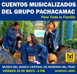 26 MAYO 6PM - MUSEO CENTRAL BCR