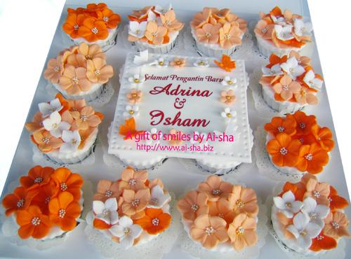 Wedding Cupcake Edible Image Ai-sha Puchong Jaya