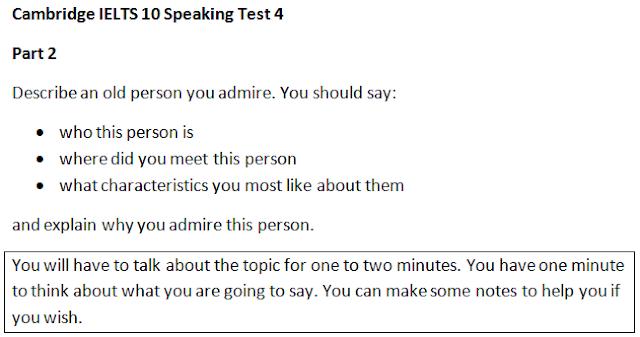 IELTS Speaking Topics 2015