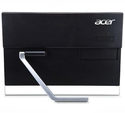 задняя сторона моноблока Acer Aspire 7600U