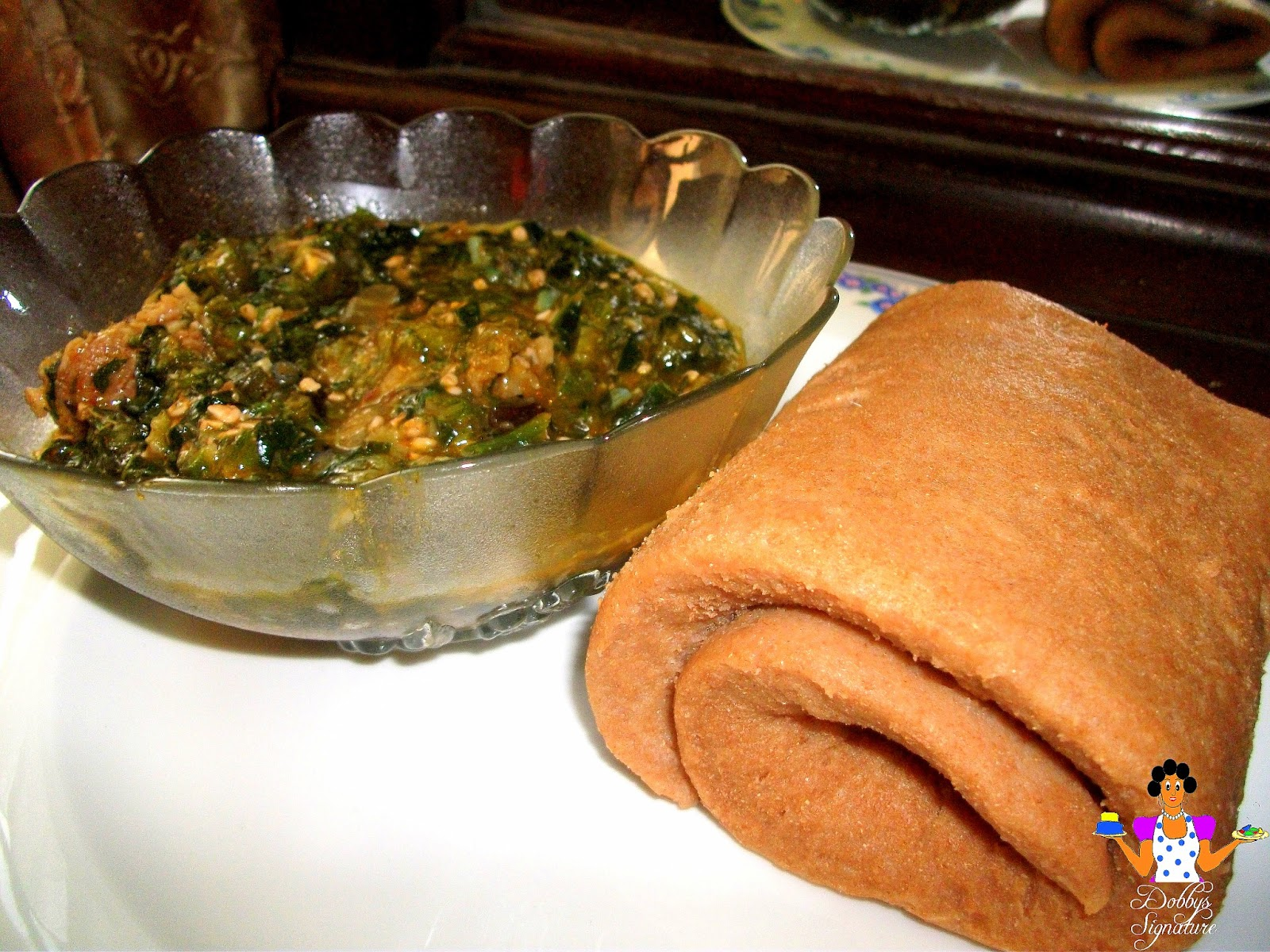 Dobbys signature nigerian food blog i nigerian food recipes i click to view my rolled wheat with okra soup recipe forumfinder Choice Image