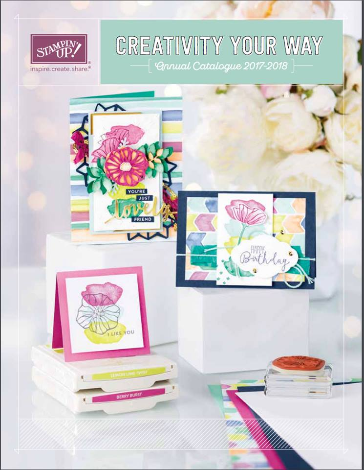 Stampin'Up catalogus 2017-2018
