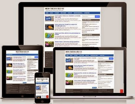 Template Responsive SEO Friendly 2015