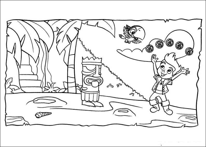 Fun Coloring Pages Jake And The Neverland Pirates Coloring Pages Jake And The Neverland Coloring Pages