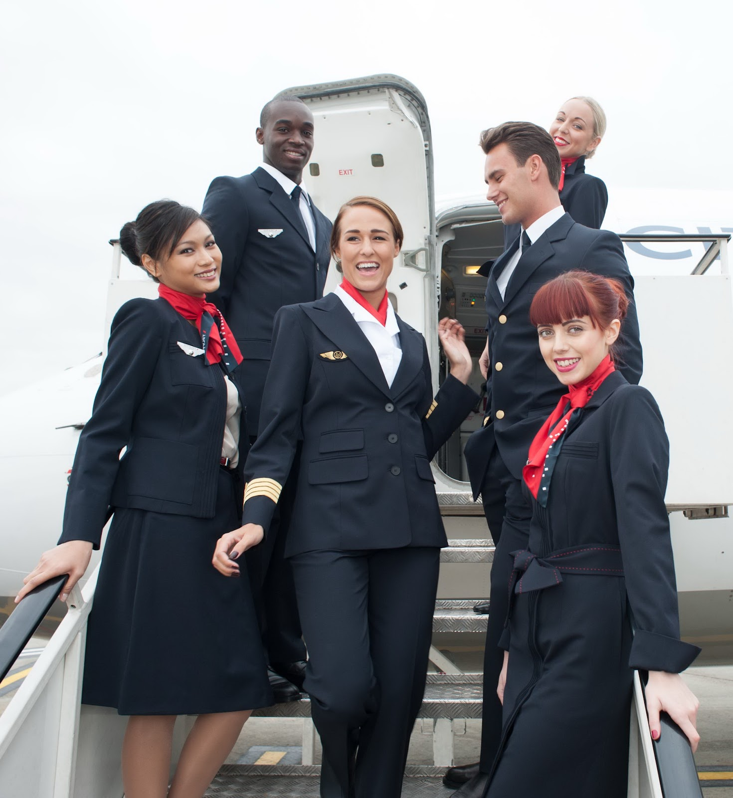 The Airline Cityjet World Stewardess Crews