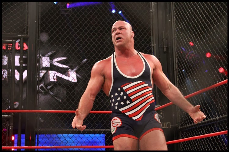 Kurt Angle - Injured and out for months