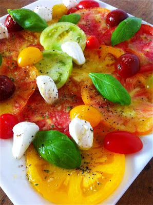 Heirloom Tomato Salad with Lemon Thyme Vinaigrette