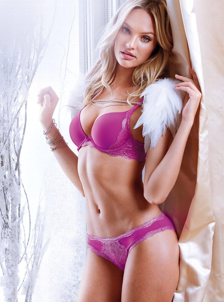 3 de abril, - VICTORIAS Secret modelo Candice Swanepoel ha respondido a las reclamaciones de que se ha vuelto demasiado delgada.