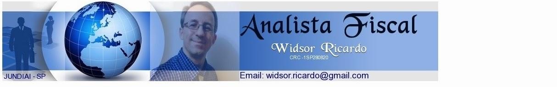 Widsor Ricardo - Analista Fiscal