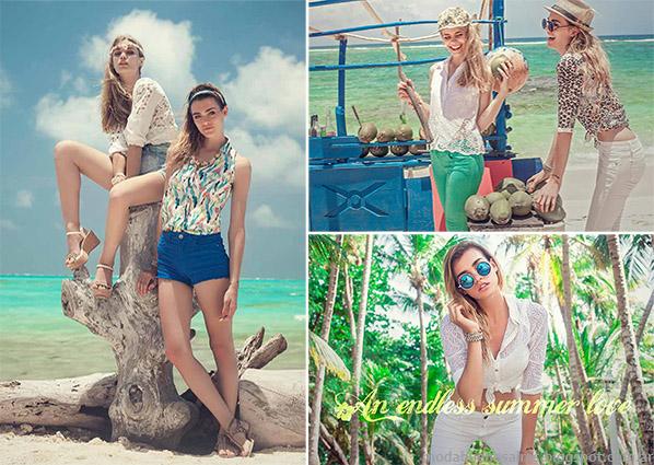 Moda y looks verano 2015 ropa de mujer Sweet.