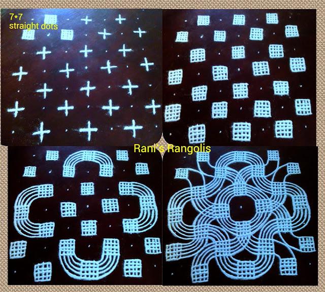 Rangoli with Dots Design 2