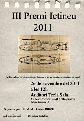Premi Ictineu 2011