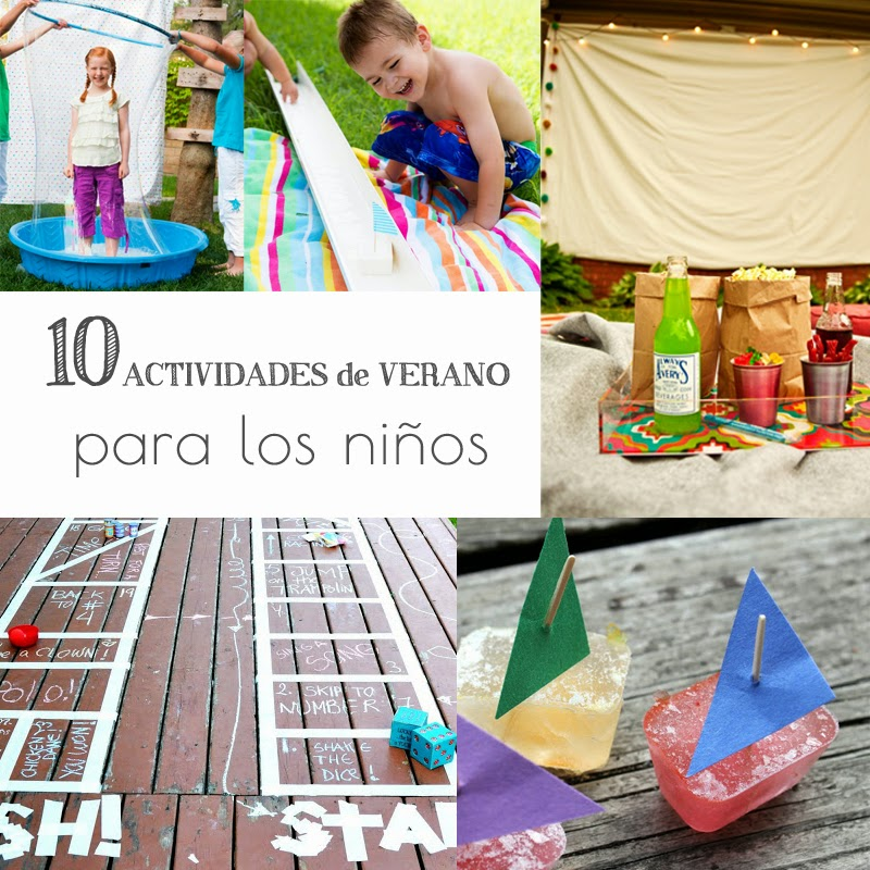 10 actividades de verano para los ni os utah mama latina for Parrilla de actividades casa del agua