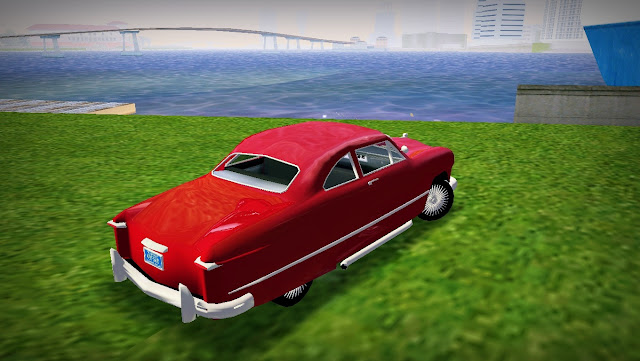 Ford 2-Door Coupe Custom 1949 GTA Vice City