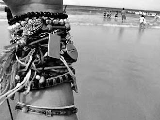 bracelets on the beach