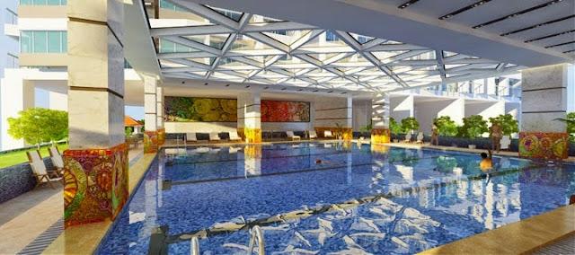 Bể bơi chung cư 378 Minh Khai