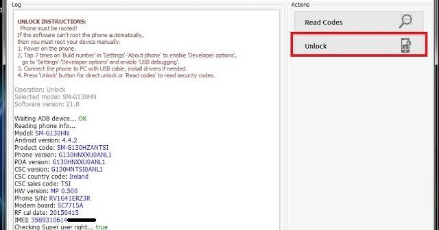 Samsung G130hn Unlock Done By Z3X