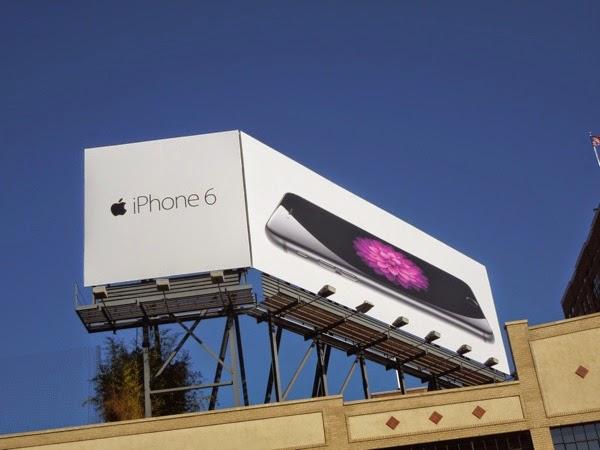 Apple iPhone 6 billboard NYC
